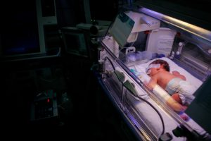 Baby in Nicu with Birth Injury