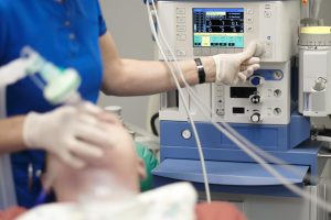 anesthesia in operating room